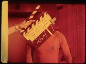 Star-Trek-TOS-35mm-Film-Clip-Slide-Elaan-of-Troyius-Kirk-Clapper-Board-56