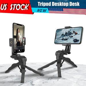 Adjustable Tripod Desktop Desk Phone GoPro Holder Stand 360°Adjustable Bracket