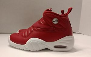 b3f4d1469117 Nike Air Shake Ndestrukt GS AA2888 600 Dennis Rodman Gym Red White ...