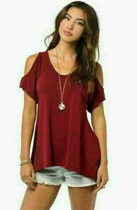 Fish-Hem-Casual-Loose-Tops-Fashion-Women-Sexy-Short-Sleeve-V-Neck-T-Shirt