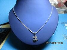 wunderschöner Halskette  Echt 925 silber mit crocodile baby  Anhänger