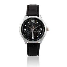 L511 - NEW Analog Quartz Leather Wrist Watch / Game of Thrones