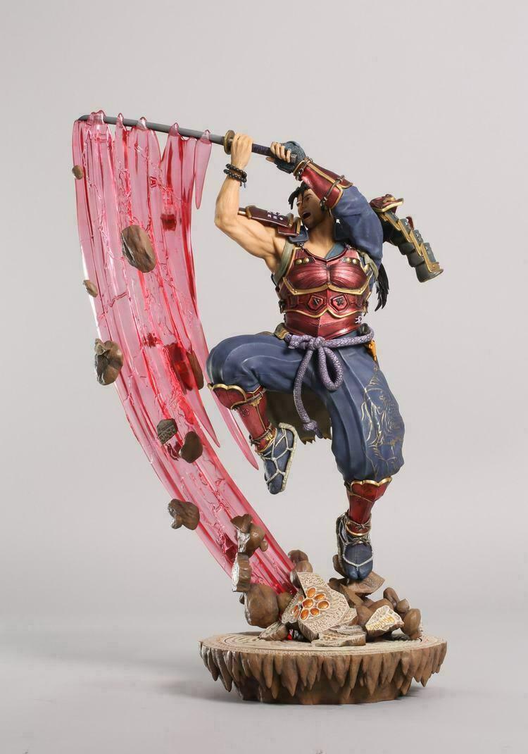 PUREARTS SOUL CALIBUR IV Mitsurugi PA001SC  1 8 Collectible Figure Statue Toys