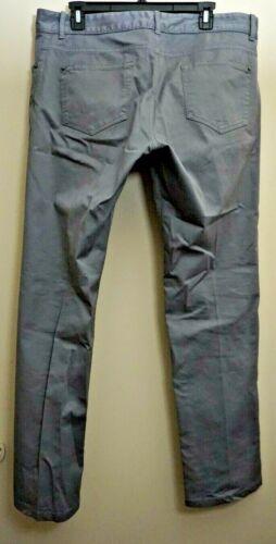 Men's BALENCIAGA Gray Khaki Chino Pants Sz 35 X 31