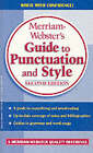Guide to Punctuation and Style by Merriam Webster,U.S. (Paperback, 2008)