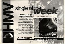 5/10/91 Pgn25 MARC COIN : WALKING IN MEMPHIS SINGLE ADVERT 7X10""