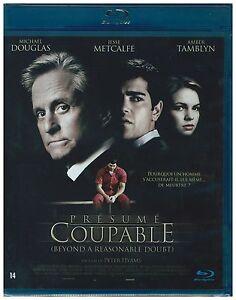 Presume Coupable - Blu-ray - Michael Douglas - NEUF - Version Fançaise