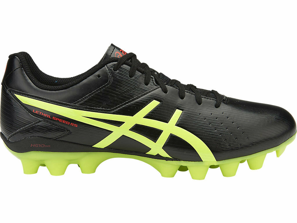 Genuine Asics Lethal Speed RS Homme Football Bottes (9007)