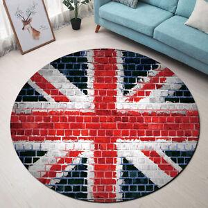 Floor Mat Retro Brick Wall Uk Flag