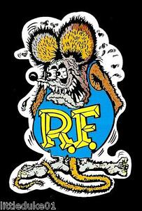 A-RAT-FINK-Sticker-Decal-Hot-Rod-Car-Surfboard-Surfing-PANEL-VAN-UTE-HOLDEN-FORD