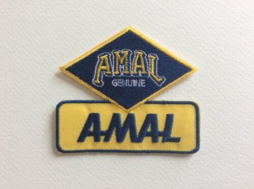 A141 Patch Patch Amal Genuine 7,5 6,5 CM
