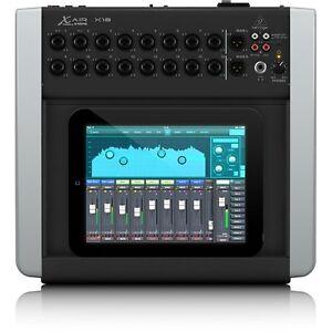 Audacieux Behringer X Air X18 18 Channel Numérique Compact Studio Live Enregistrement Sonore Mélangeur-afficher Le Titre D'origine