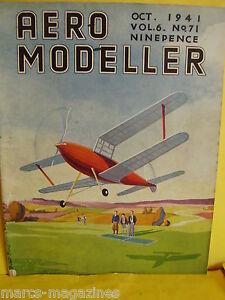 RARE-AEROMODELLER-OCTOBER-1941-KAMLET-PLAN-MINERVA-MODEL-AIRCRAFT-C-RUPERT-MOORE