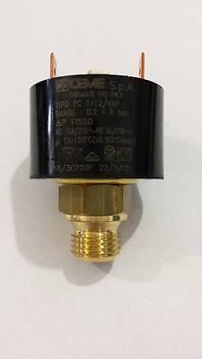 Pressostato acqua per caldaia  da 1/8 o 1/4  REGOLABILE Ceme pc 5412