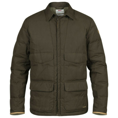 F90840 Fjallraven Sormland Down Shirt Jacket Dark Olive