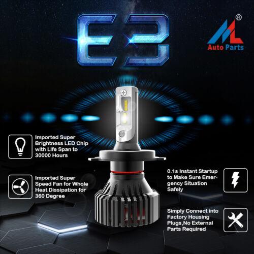 H4 16000 LM E3 LAMPADA LED PER AUTO CAMION LED XHP50 ZES LUMILED