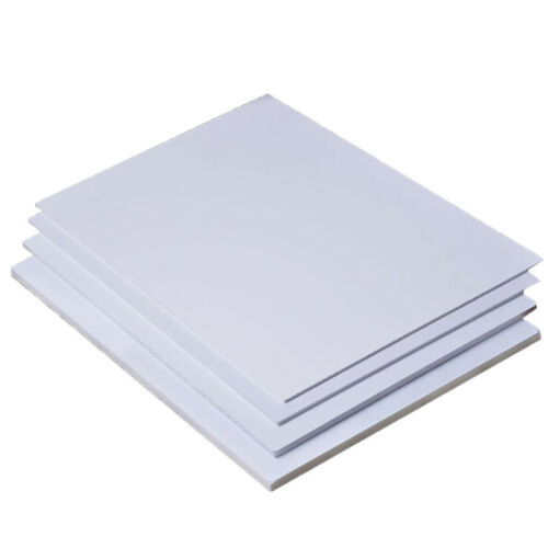 5er-Set PVC Platten Bastelplatte zum Modellbau