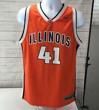 ffdd6154d1d item 5 VTG U of Illinois Fighting Illini  41 Nike Elite Basketball Jersey  Youth XL -VTG U of Illinois Fighting Illini  41 Nike Elite Basketball Jersey  Youth ...