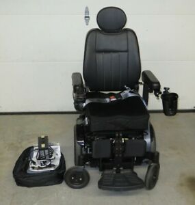 Quickie Pulse 6 SC Motorized Wheelchair Power Chair w/Charger - 2016