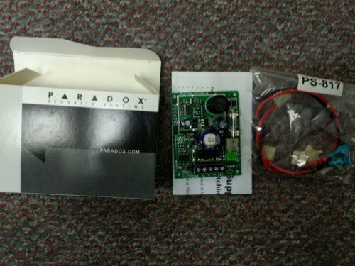 Paradox Security Ps-817 Power Supply