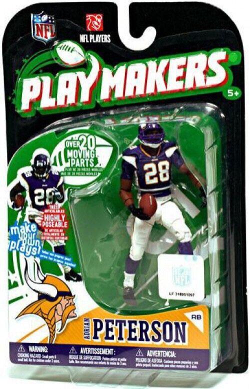 NFL Minnesota Vikings Playmakers Playmakers Playmakers Series 1 Adrian Peterson Action Figure eed8fb