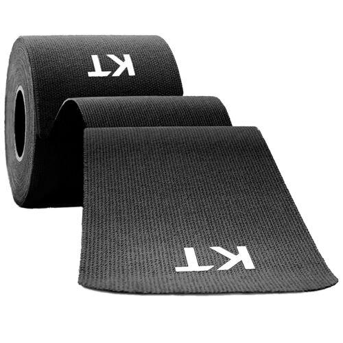 KT Tape Consumer Cotton Original Uncut 16 Feet Roll Gym Fitness Black