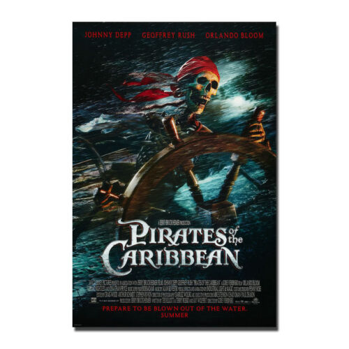 Pirates Of The Caribbean 2017 Movie Art Silk Poster Print 13x20 24x36 inch