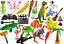 Gonflable-objets-Scene-Setters-accessoires-Flamingo-Cactus-Boule-animal-beaucoup-plus miniature 1