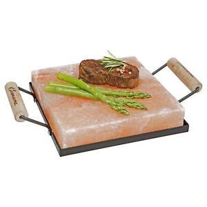 Himalayan Salt Block Grilling Slab Xl Size 8x8x 2 Bbq Salt Cooking Stone Plate 656103016778 Ebay