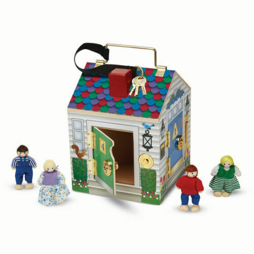 Delivery is Free #2505 Doorbell House Melissa /& Doug