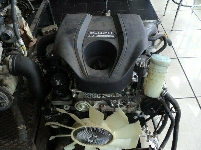 ISUZU DTEC 3.0 TURBO DIESEL ENGINE (4JX1)  FOR SALE