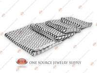 Lots Of 1000 Silver Chevron Merchandise Bags Gift Bags Store Bags Paper Bags
