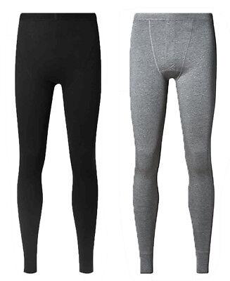 Hingebungsvoll Ex Stock M&s Marks And Spencer Heatgen Thermal Warm Mens Long Johns Pants 2 Pack