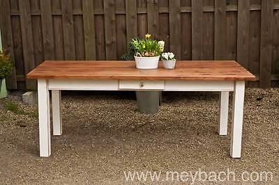 Esstisch Tisch Landhaustisch Esszimmer Massiv 180 cm mod.04 shabbyantik matt | eBay