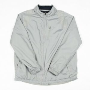 9596434402a7 Image is loading 90s-Vintage-Silver-FILA-Light-Jacket-Men-s-L-