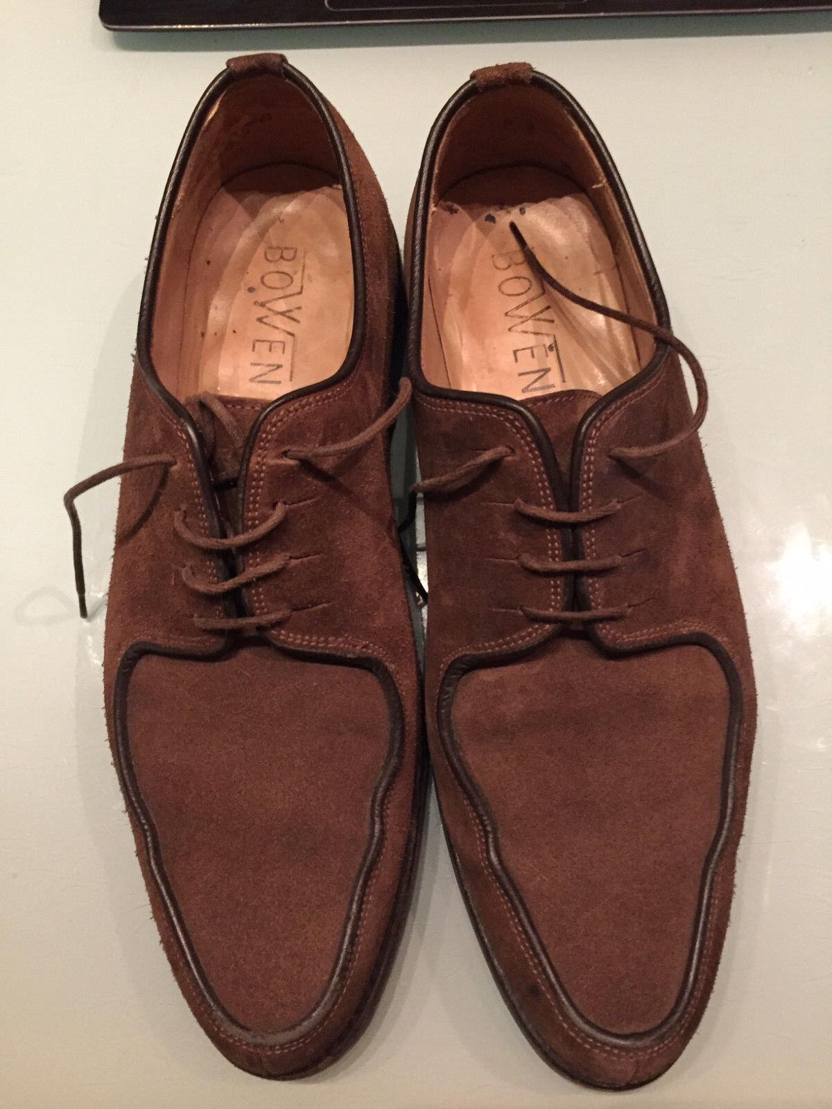 Bowen Zapatos De Gamuza-DAINITE Sole-bueno para la Iglesia