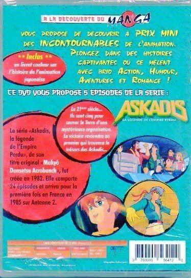 ASKADIS - LA LEGENDE DE L'EMPIRE PERDU - DVD
