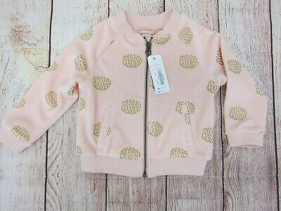 NWT Gymboree Fall for Autumn Zip Jacket or Cardigan Sweater Baby Girl 3 6 m