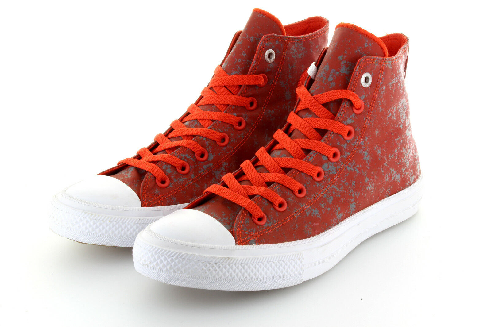 Converse Chuck Taylor AS II Hi Signal rot Pure Silber Textile Shine 42,5 43 US9    | Rich-pünktliche Lieferung