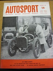 04111960 Autosport Magazine Vol 21 No 19  Name On Front - <span itemprop='availableAtOrFrom'>Birmingham, United Kingdom</span> - Returns accepted within 30 days after the item is delivered, if goods not as described. Buyer assumes responibilty for return proof of postage and costs. Most purchases from business s - <span itemprop='availableAtOrFrom'>Birmingham, United Kingdom</span>