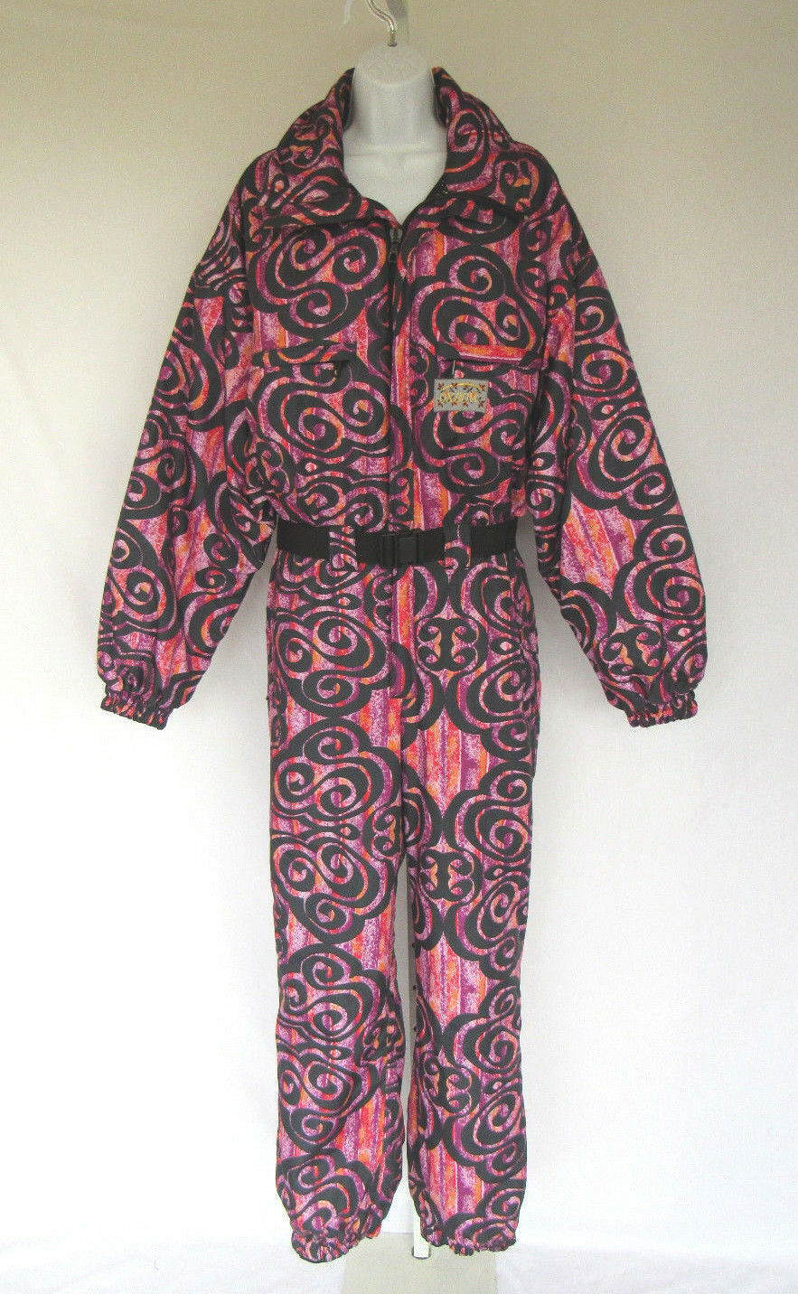 DESIGNER OXBOW FRENCH WOMAN'S SKI  SUIT SZ MEDIUM MOD PATTERN LIKELY NEVER WORN  high quality & fast shipping