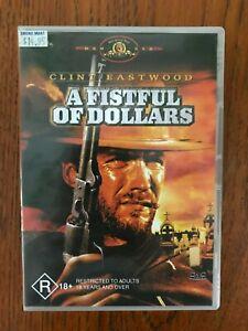 A-Fistful-Of-Dollars-DVD-Region-4-LIKE-NEW-Clint-Eastwood