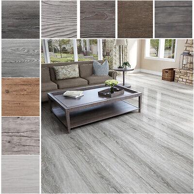 Self-adhesive PVC Floor Tiles Planks 5.02m² DIY Home Flooring Tile Pack of 36pcs