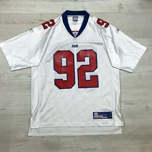 Reebok-New-York-Giants-NFL-Jersey-Michael-Strahan-92-Adult-Large
