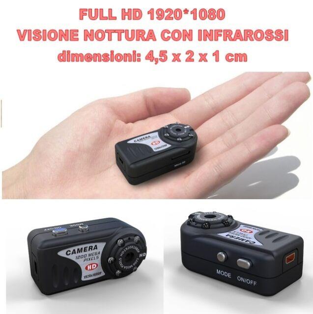 MINI DV MD80 FULL HD 1920*1080 NIGHT VISION MICRO CAMERA NASCOSTA SPY 12 MPIXEL