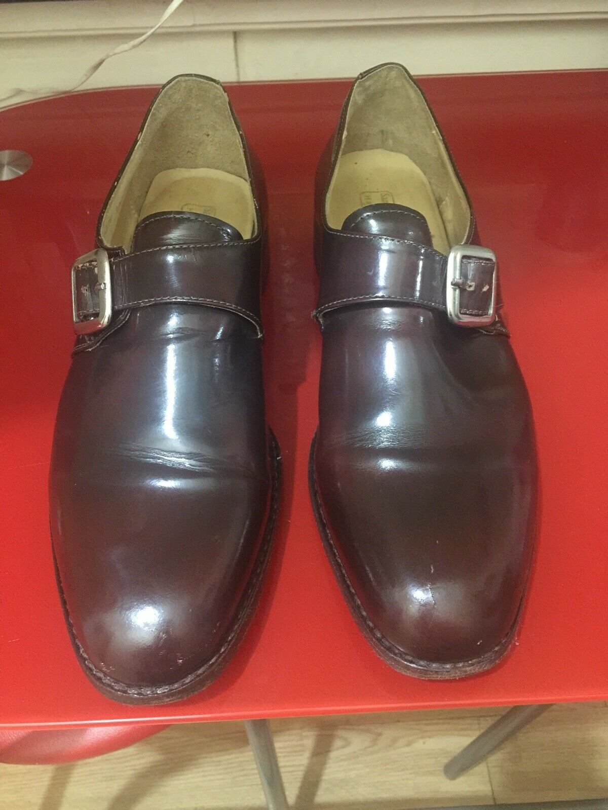 Samuel Windsor Monk shoes Uk 11