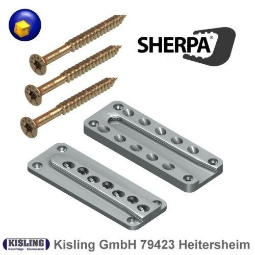 S20 M30 M40 mit passenden Spezial-Schrauben Sherpa Standard Verbinder XS10