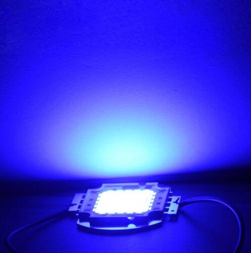 50//100w Azul Brillante Integrado Smd Led Chip de alta potencia Bombilla Foco Lanzamiento un 10//20//30