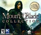 MOUNT AND BLADE COLLECTION for PC XP/VISTA/7/8 SEALED NEW