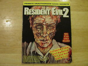 Image Is Loading Resident Evil 2 Prima 039 S Unauthorized Game